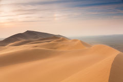 канереечный песок острова s gran дюн пустыни Стоковые Изображения RF