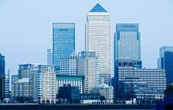 канереечный причал london Великобритании стоковые фотографии rf