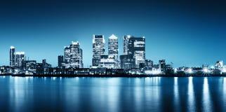 канереечный причал london Стоковые Изображения RF