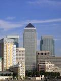канереечный причал london s docklands стоковые изображения