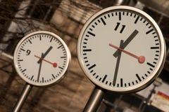 канерейка хронометрирует причал Стоковые Фото