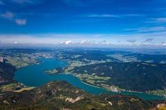 каникула горы озера Австралии Стоковое Изображение RF