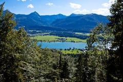 каникула горы озера Австралии Стоковые Фотографии RF