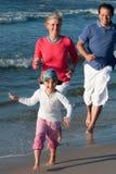 каникула лета семьи Стоковая Фотография
