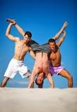 каникула лета 3 людей Стоковое Фото