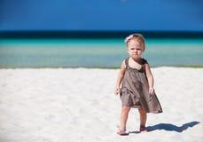 каникула малыша девушки стоковое изображение