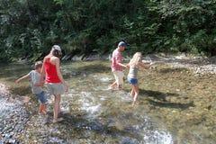 каникула места семьи естественная Стоковые Изображения