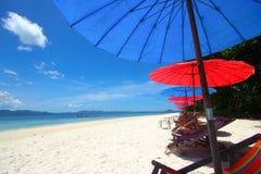 Каникула на пляже стоковые изображения