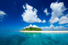 каникула рая острова тропическая стоковое фото rf