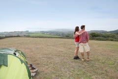 каникула семьи сельской местности Стоковое Изображение RF