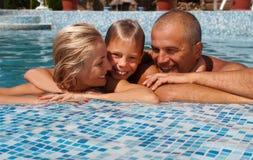 каникула семьи счастливая Стоковая Фотография
