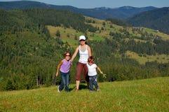 каникула семьи стоковое изображение rf