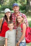 каникула семьи Стоковые Изображения RF