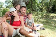каникула семьи Стоковые Фотографии RF