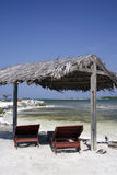 каникула caribbean пляжа Стоковые Изображения