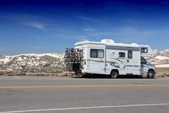 Каникулы Колорадо RV стоковая фотография