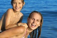 каникулы лета семьи Стоковая Фотография RF