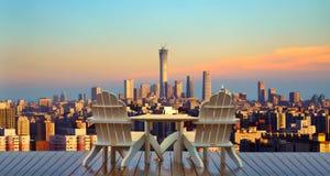 Каникулы Пекин, ослабляя в Пекин стоковое изображение