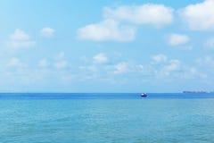 каникула лета корабля моря Стоковая Фотография
