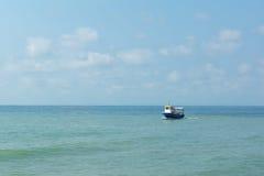 каникула лета корабля моря Стоковые Изображения RF