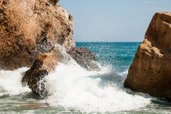 каникула Испании смещение удя среднеземноморскую сетчатую туну моря Стоковые Изображения RF