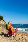 Каникула на пляже стоковые фотографии rf