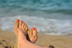 Каникула на пляже Стоковая Фотография