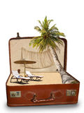 Каникула пляжа пакета Стоковые Фото