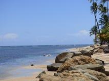 каникула пляжа тропическая Стоковое Изображение