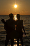 Каникула захода солнца Стоковое Изображение
