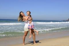 Каникула семьи: Ребенок и мать Стоковое Изображение RF