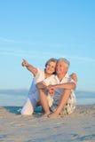 каникула старшия пар Стоковые Изображения RF