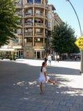Каникулы Албании, старый город, солнце, Стоковые Изображения RF
