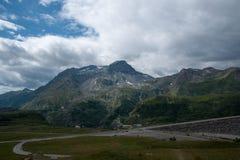 Каникулы гор в Франции Стоковые Фото