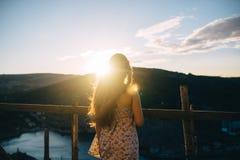 Каникулы лета солнечные Стоковое Фото