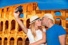 Каникулы медового месяца в Риме Стоковая Фотография