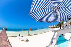 Каникулы на пляже лета Стоковое Изображение RF