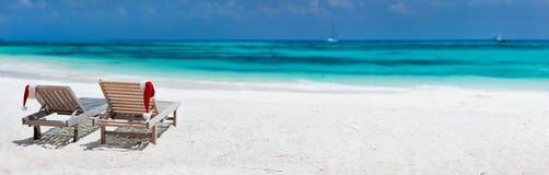 Каникулы пляжа рождества Стоковые Изображения