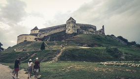 Каникулы Румыния горы стоковая фотография rf