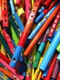 каннелюры цветов выходят Мексику вышед на рынок на рынок Стоковое Фото