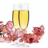 каннелюры шампанского Стоковые Изображения RF