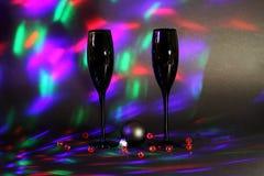 Каннелюры Шампани Стоковая Фотография