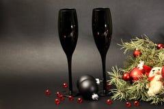 Каннелюры Шампани Стоковое фото RF