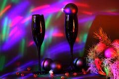 Каннелюры Шампани Стоковые Изображения