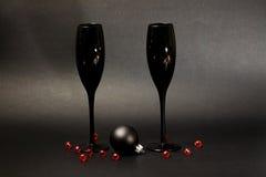 Каннелюры Шампани Стоковые Изображения RF