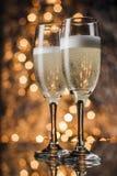 Каннелюры шампанского Стоковое Фото