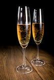 каннелюры шампанского 2 Стоковые Фотографии RF