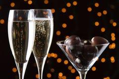 Каннелюры шампанского Стоковая Фотография RF