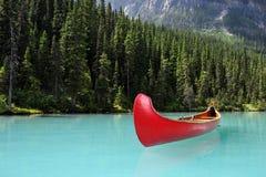 Каное Lake Louise Стоковое Изображение RF