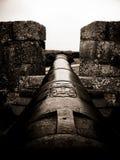 Канон на Форталезе de Санте Терезе Стоковое Изображение RF